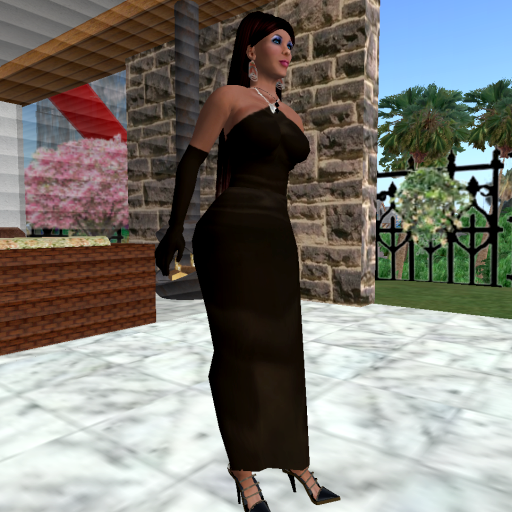 Jenelle's Black Dress